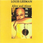 Louis Leeman - Alive and Alone CD Label