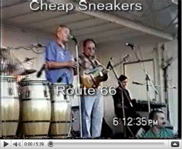 Cheap Sneakers on stage